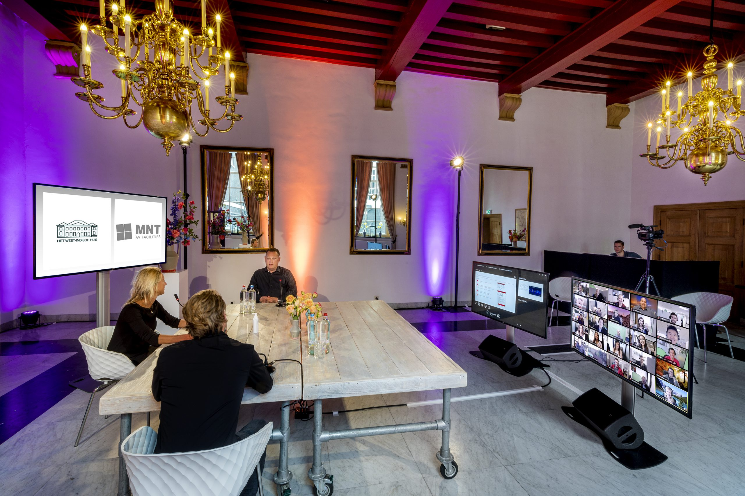 Cojan van Toor Professional Photography - oudewater -; NMT facilities; Diemen; Joure; West Indisch Huis Amsterdam; A mater of taste; van der kroft events, Wassenaar, cast studio; web stream; zoom conference; vergaderen, online meeting, #covit19